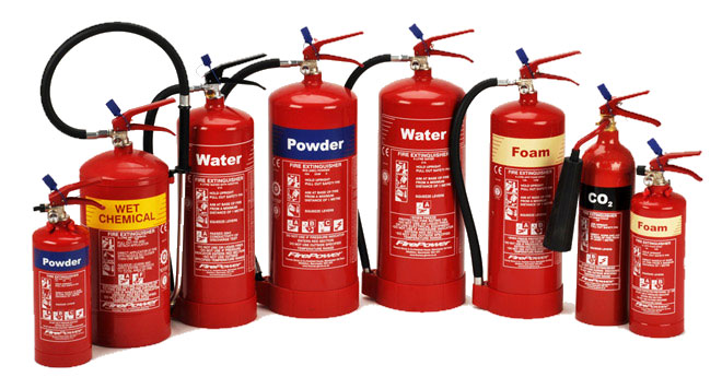 Fire Extinguishers - Rosse Systems